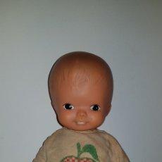 Muñecas Modernas: PRECIOSO MUÑECO BEBÉ SIN MARCAR AÑOS 60/70 DE GOMA BLANDA GERMANY. Lote 150046618