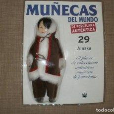 Muñecas Modernas: MUÑECAS DEL MUNDO DE AUTENTICA PORCELANA RBA ALASKA 29. Lote 150541386
