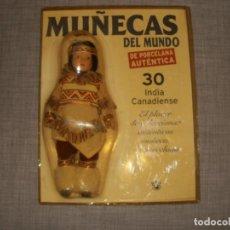 Muñecas Modernas: MUÑECAS DEL MUNDO DE AUTENTICA PORCELANA RBA INDIA CANADIENSE 30. Lote 150541450