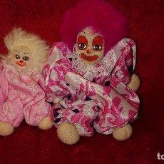 Muñecas Modernas: MUÑECOS DE ARENA CON CARITA DE PORCELANA. Lote 151150410