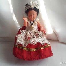 Muñecas Modernas: CURIOSA Y BONITA MUÑECA DE CELULOIDE CON TRAJE REGIONAL. Lote 151192258