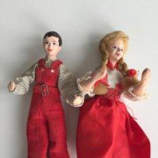 Muñecas Modernas: MUÑECOS REALIZADOS A MANO , POSIBLEMENTE INGLESES - SHALLOWPOOL . Lote 151392414