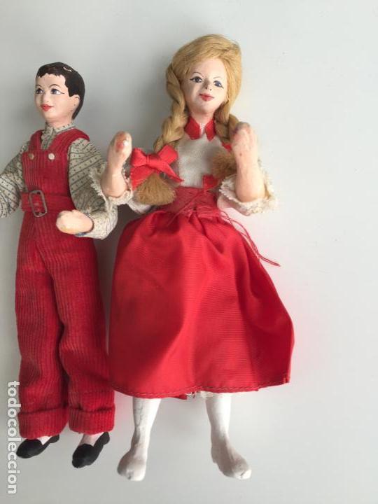 Muñecas Modernas: MUÑECOS REALIZADOS A MANO , POSIBLEMENTE INGLESES - SHALLOWPOOL - Foto 2 - 151392414