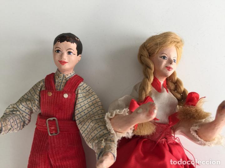 Muñecas Modernas: MUÑECOS REALIZADOS A MANO , POSIBLEMENTE INGLESES - SHALLOWPOOL - Foto 3 - 151392414