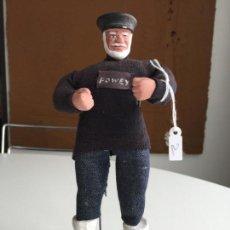 Muñecas Modernas: CORNISH SHALLOWPOOL DOLL - PESCADOR - . Lote 151394002