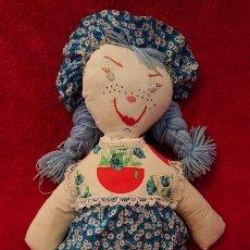 Muñecas Modernas: MUÑECA DE TRAPO DE LOS AÑOS 60. Lote 151323006