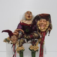 Muñecas Modernas: LOTE DE 3 FIGURAS, KATHERINE'S COLLECTION. WAYNE KLESKI, MADE IN USA, MUY COTIZADAS Y CASI UNICAS. Lote 151857702