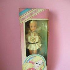 Muñecas Modernas: MUÑECA SINDY SILVER SKATER AÑOS 80 PEDIGREE ENGLAND NUEVA EN CAJA. Lote 152034582