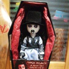 Muñecas Modernas: TINA BLACK, LIVING DEAD DOLLS, MEZCO. INCREÍBLE. NUEVA. . Lote 152573042