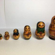 Muñecas Modernas: MATRIUSKA 7 PIEZAS. Lote 153380710