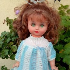 Muñecas Modernas: MUÑECA ANTIGUA, MADE IN JAPAN, BASA, MIDE 50 CM. Lote 153825785