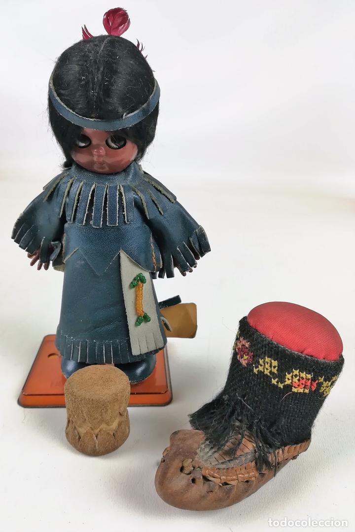 MUÑECA INDIA. HERITAGE DOLLS. A SUNBELL COMPANY. (Juguetes - Muñeca Extranjera Moderna - Otras Muñecas)