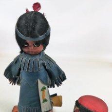 Muñecas Modernas: MUÑECA INDIA. HERITAGE DOLLS. A SUNBELL COMPANY.. Lote 155794998