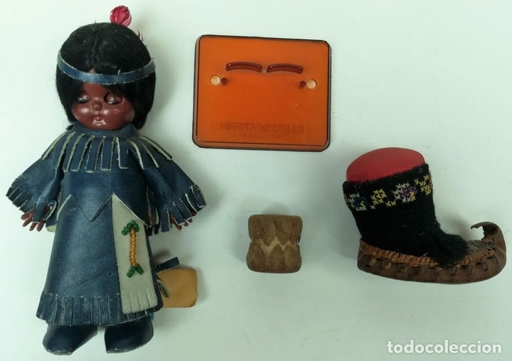 Muñecas Modernas: MUÑECA INDIA. HERITAGE DOLLS. A SUNBELL COMPANY. - Foto 2 - 155794998