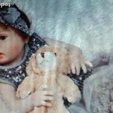 Muñecas Modernas: MUÑECO BEBE MUÑECA-REBORN-VINILO-SILICONA-NUEVO-PRECIOSO-COLECCION-DE CALIDAD-COMUNION-NAVIDAD-. Lote 155872946