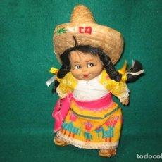 Muñecas Modernas: MUÑECA MEXICANA CON TRAJE TIPO. Lote 156640302