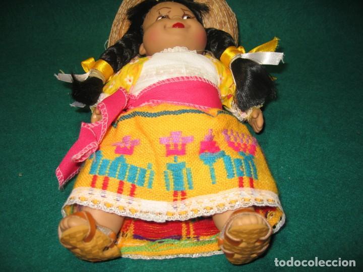 Muñecas Modernas: MUÑECA MEXICANA CON TRAJE TIPO - Foto 3 - 156640302