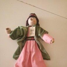 Muñecas Modernas: MUÑECO WINZLING ORIGINAL CON ETIQUETA 31 CMS REY GASPAR. Lote 156717314