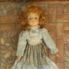 Muñecas Modernas: MUÑECA DE PORCELA RACHEL SERIE THE CLASSIQUE COLLECTION Y NUMERADA. Lote 157217982