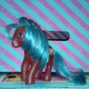 Muñecas Modernas: BONITO MI PEQUEÑO PONY-MY LITTLE PONY G1, DANCE STAR-PURPURINA - HASBRO - 1987. Lote 157730858