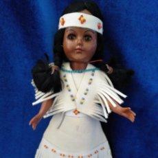 Muñecas Modernas: MUÑECA INDIA AÑOS 60/70 VESTIDO ORIGINAL. Lote 160186910