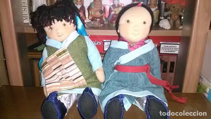 MUÑECAS TRAPO (Juguetes - Muñeca Extranjera Moderna - Otras Muñecas)