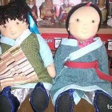 Muñecas Modernas: MUÑECAS TRAPO. Lote 160803562