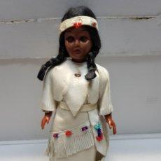 Muñecas Modernas: MUÑECA INDIA NEGRA RARA AÑOS 60. Lote 161409098