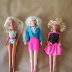 Muñecas Modernas: SINDY HASBRO LOTE 3 MUÑECAS. Lote 161627422