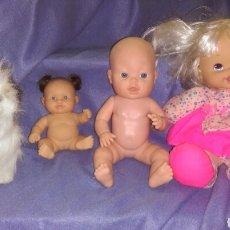 Muñecas Modernas: LOTE MUÑECAS FUR REAL, PAOLA REINA, FAMOSA, HASBRO. Lote 162719134