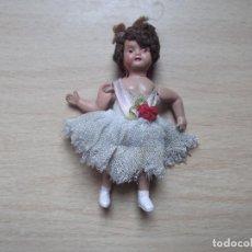 Muñecas Modernas: MUÑECA-V50-ANTIGUA MUÑECA-MIDE 9CM. Lote 163073786