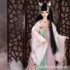 Muñecas Modernas: 60 CM-MUÑECA JAPONESA-ORIENTAL-ASIÁTICA-ARTICULADA-60CM-PRECIOSA-NUEVA-COLECCIÓN-. Lote 163530862