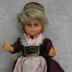 Muñecas Modernas: MUÑECA ALEMANA MARCADA HV 25,CUERPO DE CELULOIDE,CABEZA DE GOMA,AÑOS 60. Lote 165314706