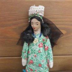 Muñecas Modernas: MUÑECA DE TRAPO. MIDE 22 CMS. DE ALTO. Lote 169531016