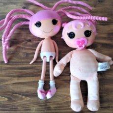 Muñecas Modernas: LOTE DE 2 MUÑECAS LALALOOPSY JUGUETE. Lote 171136200