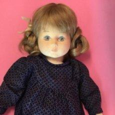 Muñecas Modernas: ANTIGUA MUÑECA ESTILO GLOREX DE TELA PELO NATURAL GLOREX DOLL. Lote 171180249