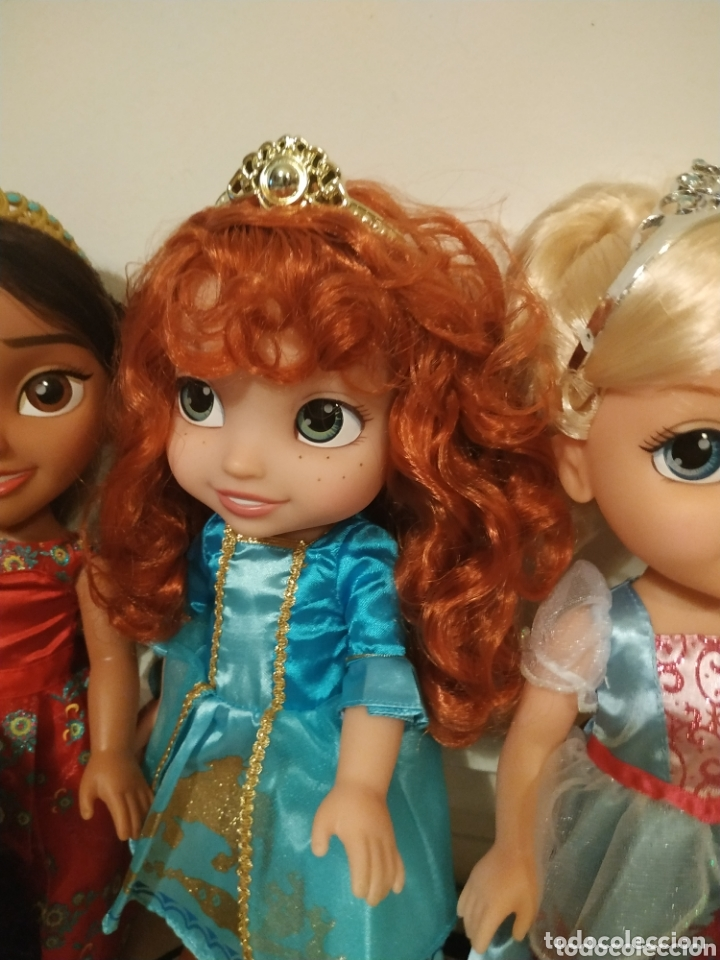 Muñecas Modernas: Lote Princesas Disney Toddler 35 cm(Sirenita, Bella Durmiente, Pocahontas, Blancanieves,...) - Foto 3 - 172474349