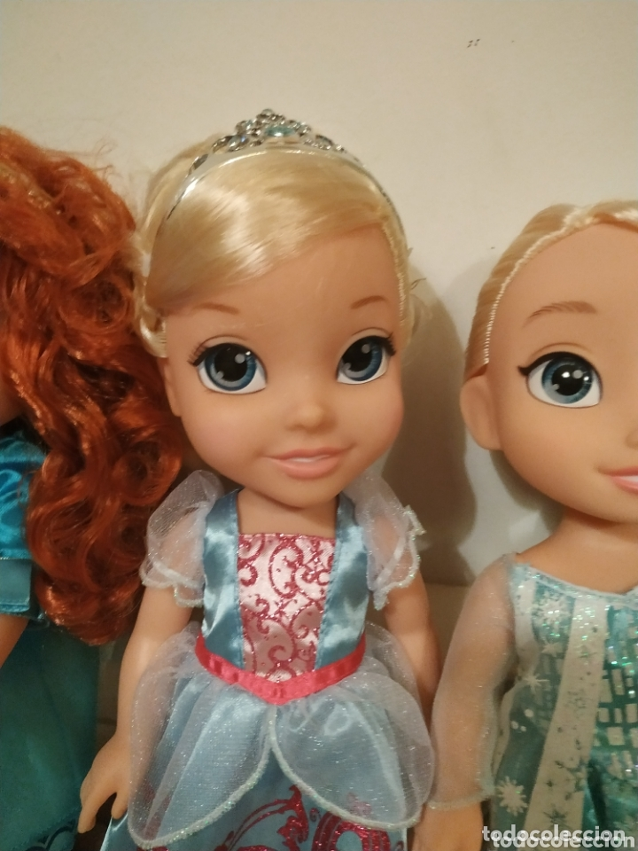 Muñecas Modernas: Lote Princesas Disney Toddler 35 cm(Sirenita, Bella Durmiente, Pocahontas, Blancanieves,...) - Foto 4 - 172474349