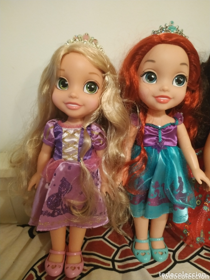 Muñecas Modernas: Lote Princesas Disney Toddler 35 cm(Sirenita, Bella Durmiente, Pocahontas, Blancanieves,...) - Foto 24 - 172474349