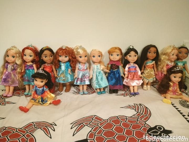 Muñecas Modernas: Lote Princesas Disney Toddler 35 cm(Sirenita, Bella Durmiente, Pocahontas, Blancanieves,...) - Foto 26 - 172474349