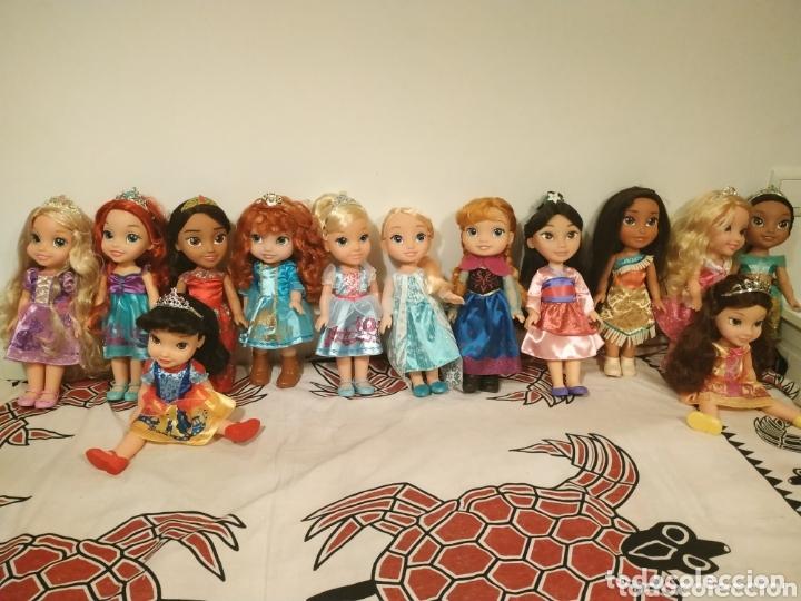 LOTE PRINCESAS DISNEY TODDLER 35 CM(SIRENITA, BELLA DURMIENTE, POCAHONTAS, BLANCANIEVES,...) (Juguetes - Muñeca Extranjera Moderna - Otras Muñecas)