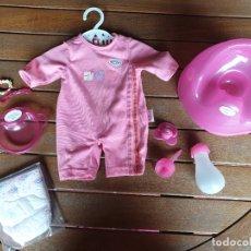Muñecas Modernas: ROPA BABY BORN. BODY Y ACCESORIOS. Lote 172938088