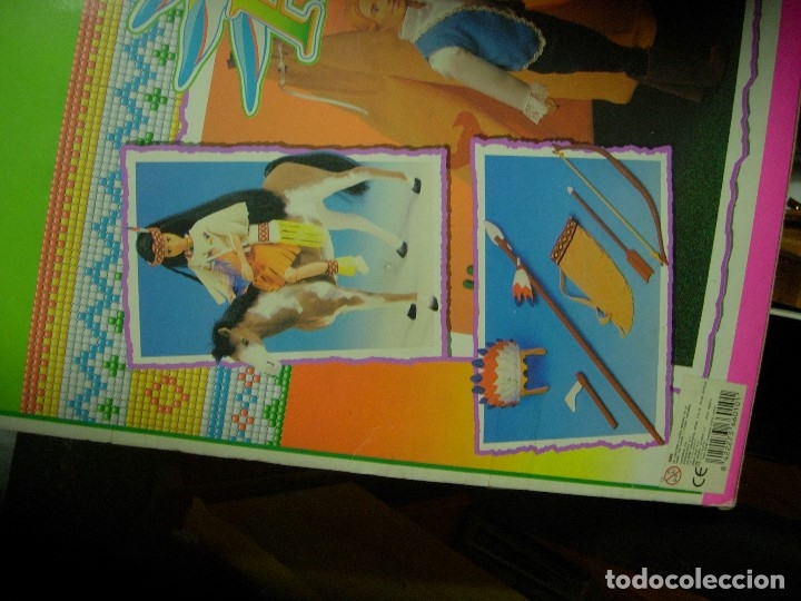 Muñecas Modernas: Native indian princess Bend And move body / MUÑECA INDIA - Foto 4 - 173553128