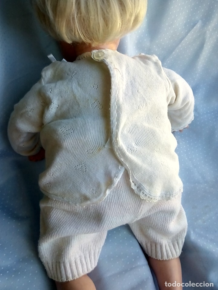 Muñecas Modernas: antigua muñeca marcada italia rellena de serrín probablemente de sebino de 45 cm - Foto 2 - 175802665