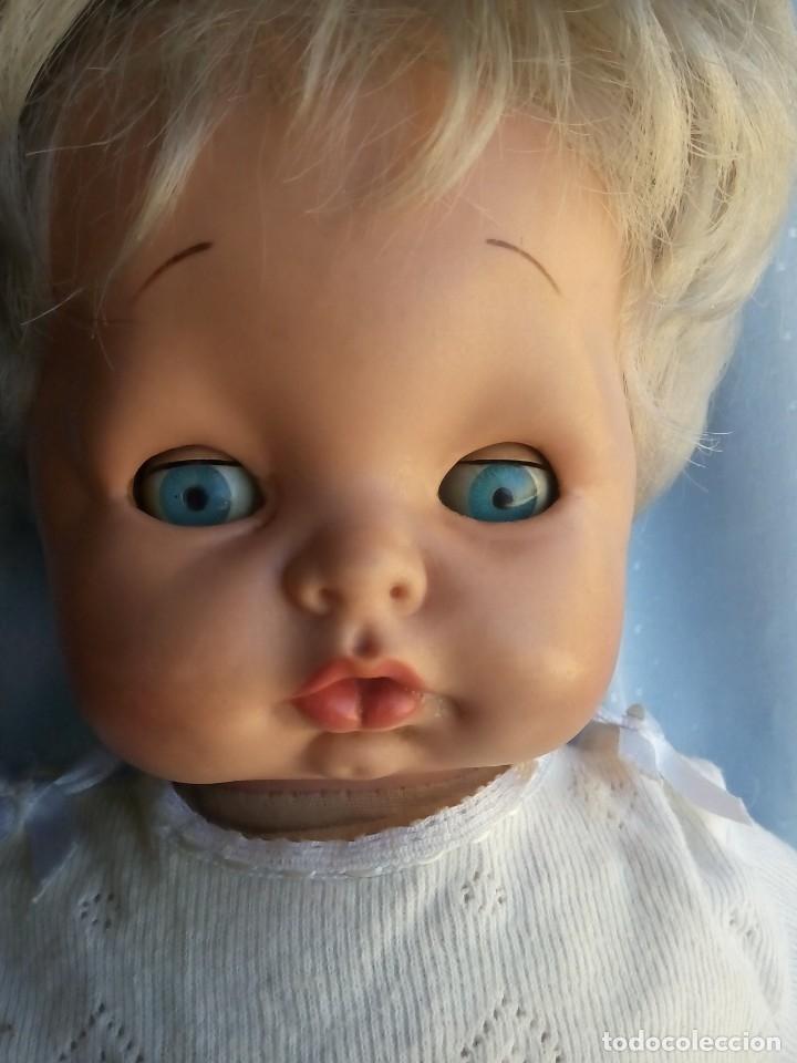Muñecas Modernas: antigua muñeca marcada italia rellena de serrín probablemente de sebino de 45 cm - Foto 3 - 175802665