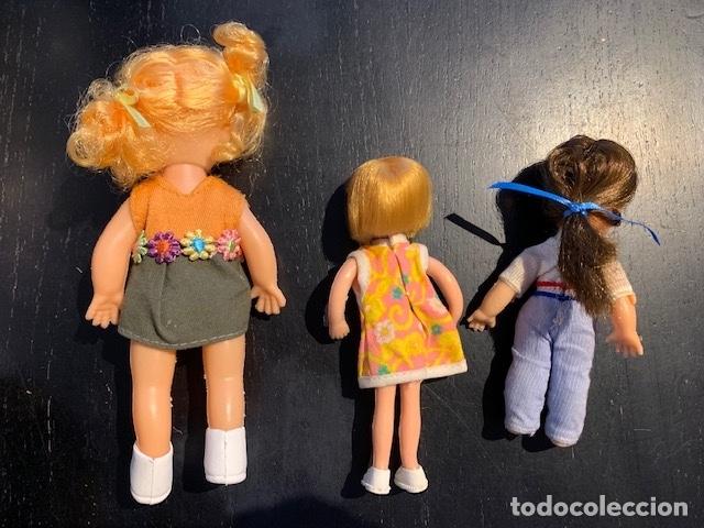 Muñecas Modernas: ANTIGUAS MUÑECAS DE LOS 60 70 CON TRAJE ORIGINAL - Foto 6 - 175944492