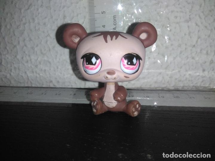 MUÑECO FIGURA OSO MASCOTA LITTLE PET SHOP LPS CPS (Juguetes - Muñeca Extranjera Moderna - Otras Muñecas)
