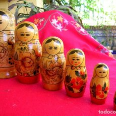 Muñecas Modernas: MATRIOSKA ANTIGUA USSR. Lote 176776789