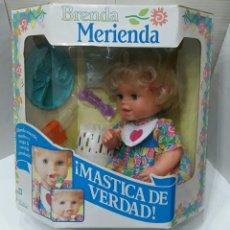 Muñecas Modernas: BRENDA MERIENDA. KENNER. NUEVO EN CAJA. 1995. TONKA CORPORATION. MASTICA DE VERDAD.. Lote 176868129
