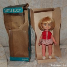 Muñecas Modernas: LITTLE LUCY,PERFEKTA,CAJA ORIGINAL,MADE IN HONG KONG,AÑOS 60. Lote 177024778